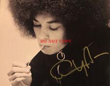 ANGELA DAVIS SIGNED 8x10 PHOTO AUTOGRAPHED BLACK PANTHER PARTY PHOTO Reprint