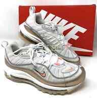 Nike Air Max 98 White Tan Women's All Sizes Sneakers CI9907 100