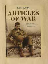 Articles of War, Nick Arvin, New Book