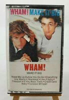 "VINTAGE WHAM! ""Make It Big"" Cassette Tape CBS Records #FCT 39595 1984"
