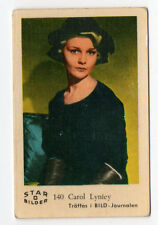 1960s Swedish Film Star Card Bilder D #140 US Actress Child Model Carol Lynley