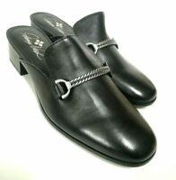 Patricia Nash 100% Italian Leather TILLY BLACK Women's Shoes Polish-Z12