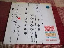 The New York Woodwind Quintet Jean Francaix Paul Taffanel Everest SDBR 3080 LP