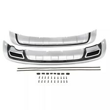 Front And Rear ABS Plastic Bumper Protector Diffuser For KIA Sportage 2010-2014