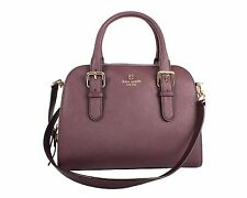 Kate Spade New York Cove Street Small Felix Satchel, Mulledwine, One Size