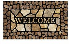 Mohawk Welcome Door Mat Outdoor Indoor Rug Entrance Carpet Doormat NEW Entryway