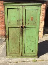 More details for vintage industrial school cupboard, kitchen larder unit, housekeepers cupboard.