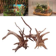 Tronc d'arbre naturel Bois flotté Aquarium Réserve de poissons bois Décoration