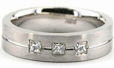 Diamond Wedding Rings Bands Mens Womens Diamond Wedding Ring Band 10K White Gold