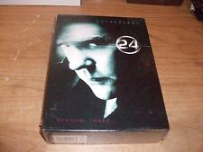 24 Season 3 (DVD 2009 6-Disc Set) Kiefer Sutherland Action Adventure TV Show NEW