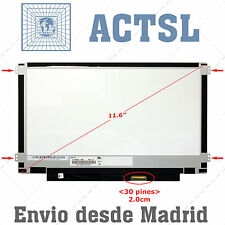 "NT116WHM-N11 LCD Display Dalle Ecran 11.6"" HD 1366x768 LED 30pin eDP beo"