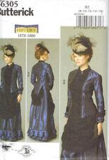 Victorian Steampunk Bustle Skirt Blouse Costume Misses size 8-16 Butterick 6305