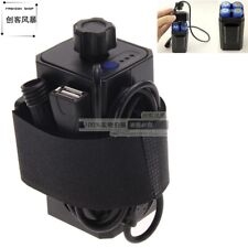 (Usa)8.4V 4X 18650 Battery Pack Case Usb for Phone Bike Bicycle Lamp Water Proof