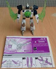 Transformers Energon Divebomb completa más instrucciones