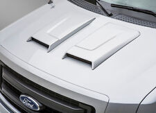 09-14 Ford F150 3dCarbon Urethane Dual Ram Air Style Hood Scoop Unpainted 692085