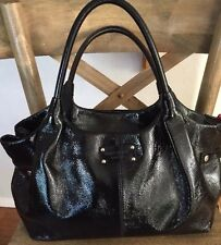 SALE! ~ KATE SPADE New York Uxbridge Black PATENT LEATHER Stevie Bag ~ STUNNING
