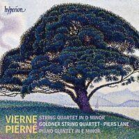 Piers Lane - Pierne Piano Quintet  Vierne String Quartet [CD]