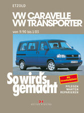 VW BUS T4 TRANSPORTER Caravelle Jetzt helfe ich mir selbst Reparaturbuch BUCH
