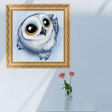 DIY 5D Diamond Embroidery Painting Cute Owl Cross Stitch Craft Home Decor