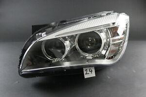 BMW X1 E84 LCI damaged Genuine OEM xenon headlight for parts - LEFT