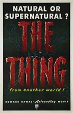 """THE THING FROM ANOTHER WORLD Poster [Licensed-NEW-USA] 27x40"""" Theater Size (B)"""