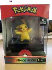 Wicked Cool Toys Pokemon Select Collection S3 Figure Pikachu w/ Display Case