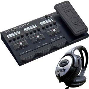 Zoom G3Xn Gitarren Multi-Effektgerät + Kopfhörer