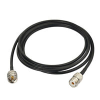 CB Radio Extension Cable UHF PL-259 SO239 3.05m for Mobile Transceiver SWR Meter