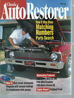 NG-014 - Classic Auto Restorer, March 1997 Chevy Nova SS, MGA Roadster, Riviera