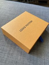 Louis Vuitton Authentic Gift Empty Box Small Thick Case Slider 100% Original New