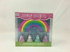 OOLY, Unique Unicorn Strawberry-Scented Erasers