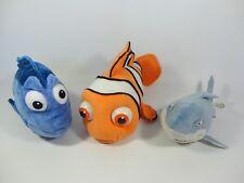 Disney Finding Nemo Soft Toys Dory Bruce Shark-Nite Brite Store Disneyland