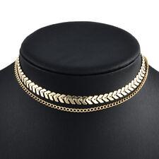 Fashion Women Chunky Choker Statement Bib Chain Charm Pendant Necklace Jewelry