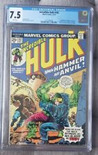 Incredible Hulk #182 CGC 7.5 White Pages 3rd Wolverine Looks Like a 9.0