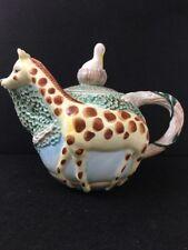 STRATA GROUP JUNGLE SPREE GIRAFFE Teapot Decorative Ceramic Vintage Pelican  MR