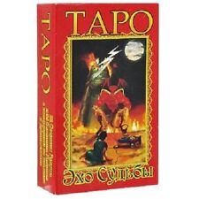 Neue Karten Deck Tarot Echos Schicksal 78 Sammlung Russisch Rare Deluxe Souvenir
