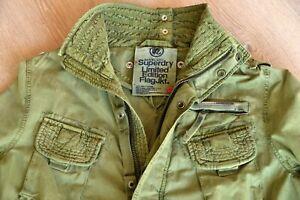 Superdry Flag Jacke Ltd. Edition in XL (wie L) Safari Field Combat Jacket M65