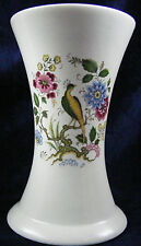 Classic Bird of Paradise Purbeck Pottery Waisted Vase