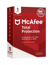 McAfee Total Protection 2021 - 1 PC / Geräte / 5 Jahr Vollversion
