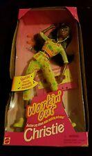 Barbie Workin' Out CHRISTIE AA Doll w Cassette (1996)