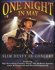 SLIM DUSTY - ONE NIGHT IN MAY : LIVE IN CONCERT PAL DVD ~ McKEAN SISTERS *NEW*