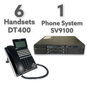 NEC Office Phone System SV9100/ SV9300 and 6 NEC DT400 Handsets ~ BRISBANE