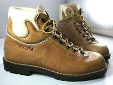 Tecnica Boots Mens Leather Lace Up Shoes Size 44 Made in Italy