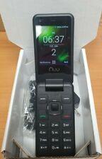 NUU Mobile F4L 4G LTE Flip Phone - Used in White Box Excellent Condition Verizon