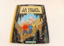 BD Jo, Zette et Jocko La Vallée des Cobras 1960 B27 Hergé Casterman