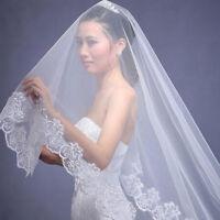 7668 Veils Wedding Veil Bride Cathedral Simple Bride Veil