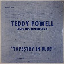 TEDDY POWELL: Tapestry in Blue SEALED Red Wax ORIG Jazz Sounds of Swing LP