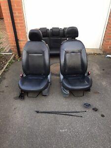 Ford Fiesta Mk6 3 Door Leather Interior Seats 2002-2008