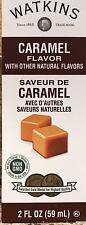 Watkins Caramel Imitation Extract 2 oz 59 ml USA Fresh Non Gmo Gluten Free
