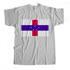 Netherlands Antilles | National Flag | Iron On T-Shirt Transfer Print